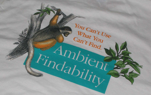 Ambient Findability T-Shirt